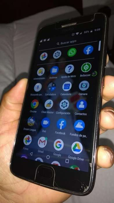 Se vende <strong>celular</strong> moto g 5 plus info al 3023292021