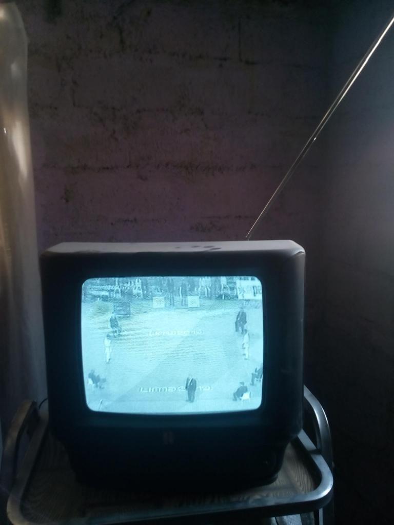 Vendo una tv blanco y negro