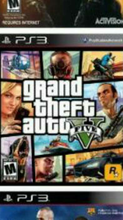 Juegos Play 3 Gta V .y 40 Mas