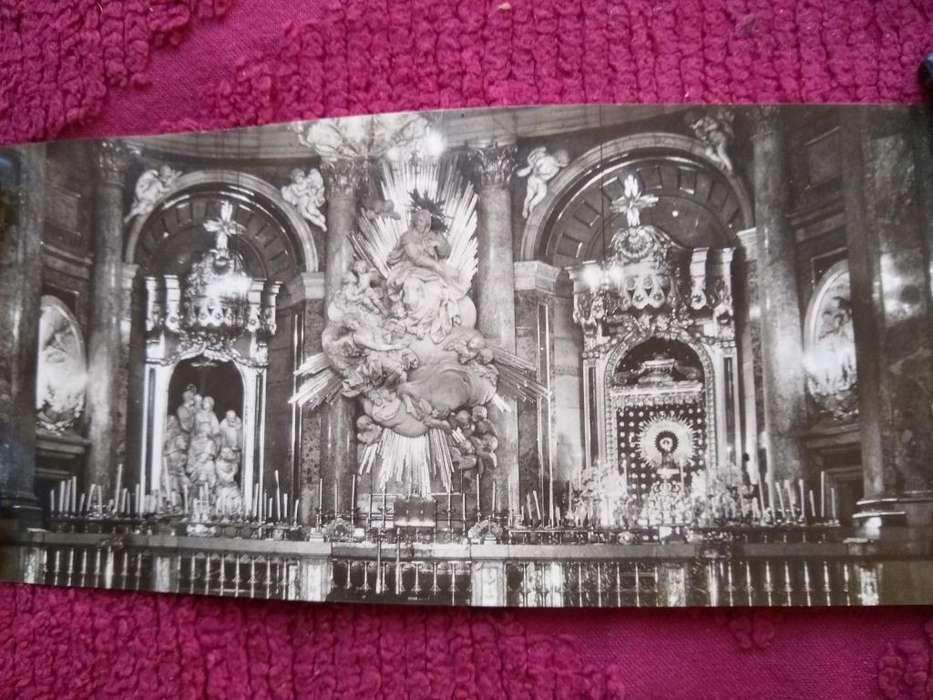 postal antigua de ZARAGOZA --BASILICA de EL PILAR-- 9 X 22,5