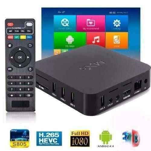 Convierte tu TV en Smart Box MXQ4K