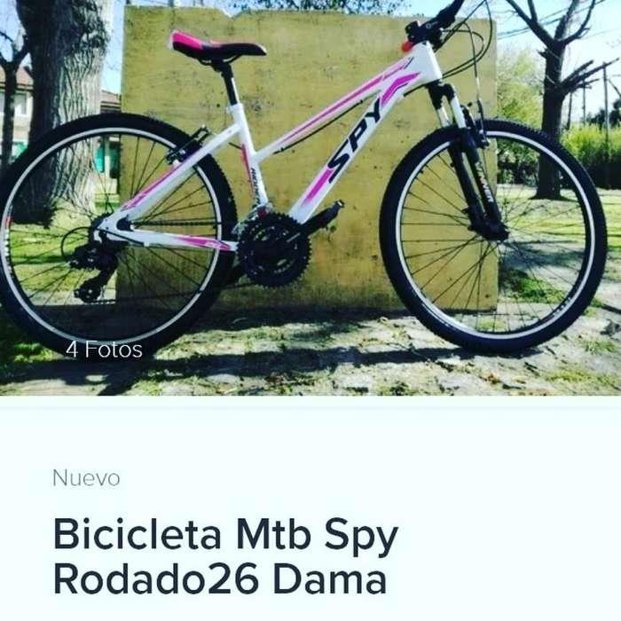 Vendo Bici Myb Spy Dama rodado 26