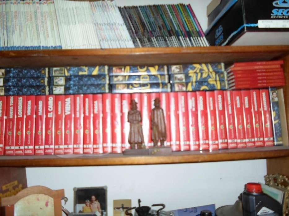 CIUDADES DEL MUNDO VHS COMPLETA LOS 30 VHS SIN USO