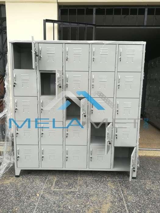Locker 25 puertas / fabricantes de locker