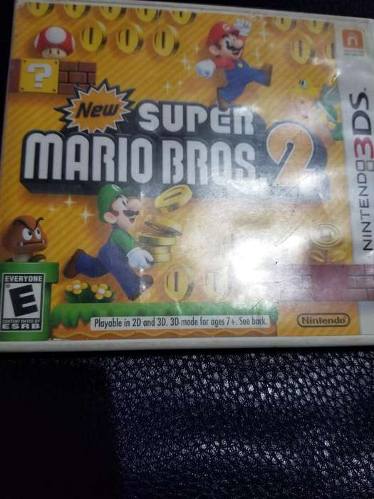 Vendo New Super Mario Bros.2 3ds