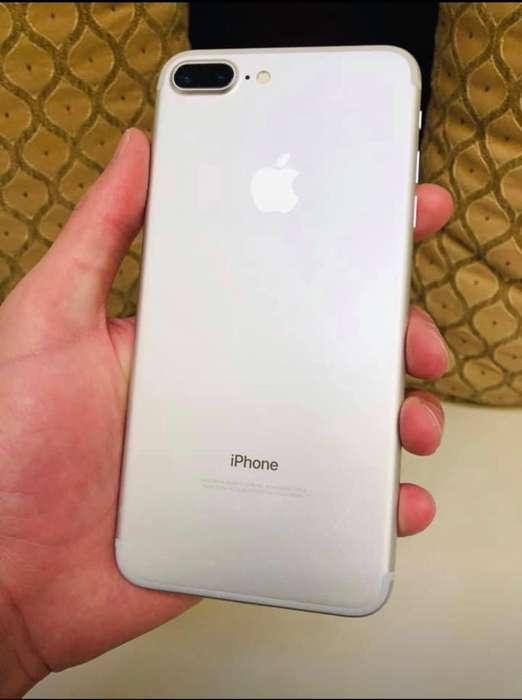 iPhone 7 Plus Plata Hermoso Celular