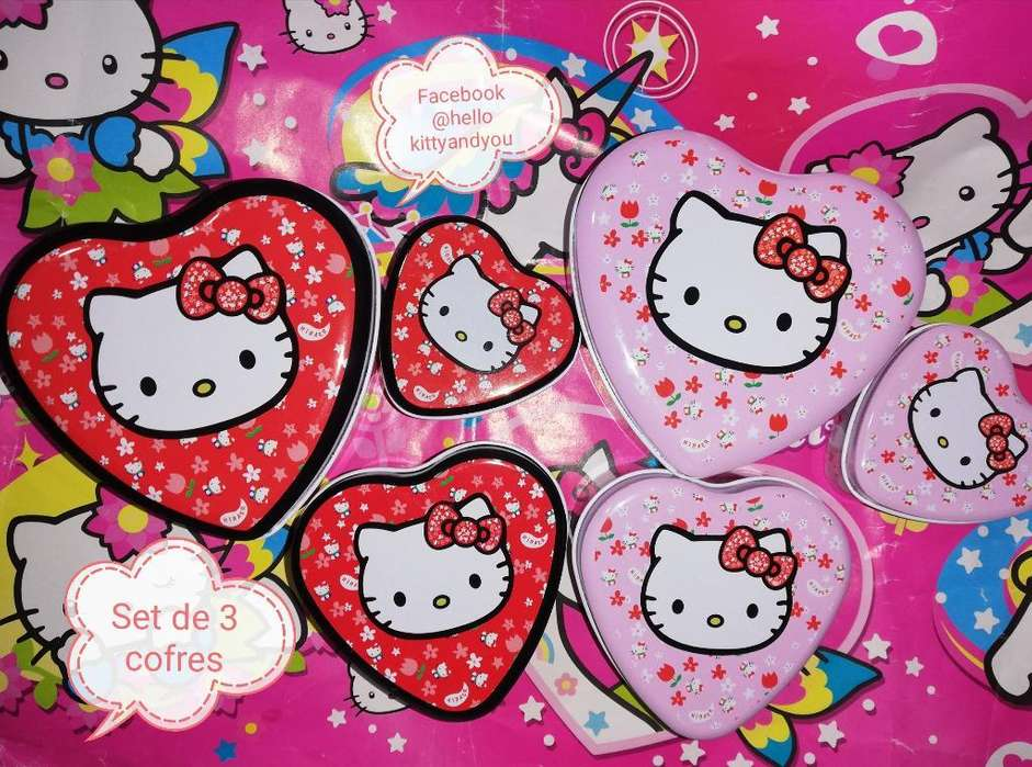 Cofres Hello Kitty