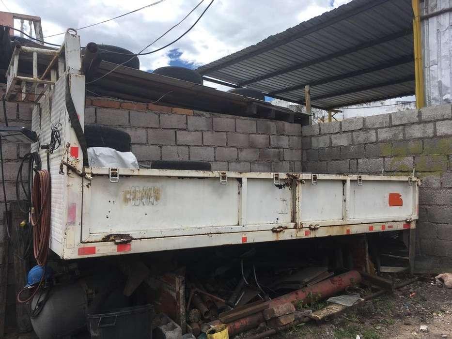 Plataforma Metalica 4.10 X 2.05 para <strong>camion</strong> 5 Puertas Buen Estado