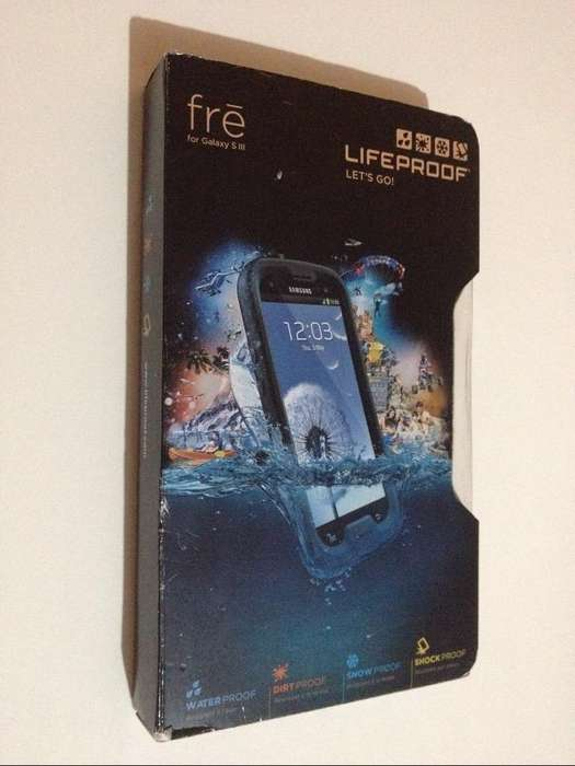 Protector Lifeproof Samsung S3 Impermeable