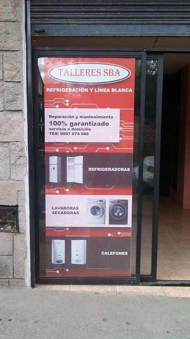 Reparación y Mantenimiento Refrigeradoras, Lavadoras, Secadoras, Calefones, Cocinas, Servicios a domicilio 0997074688