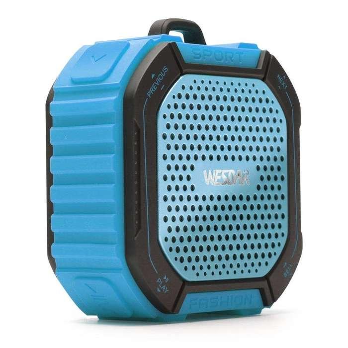 Parlante Bluetooth Senderismo y Bicicleta Wesdar K11