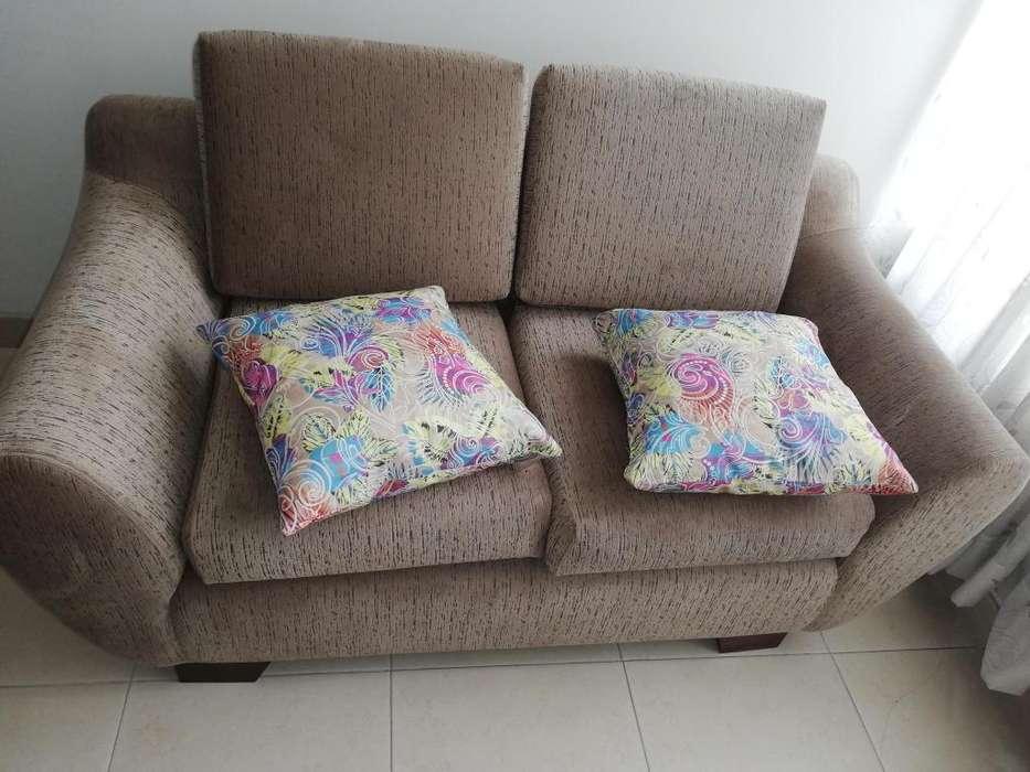 Vendo sofá de dos puestos