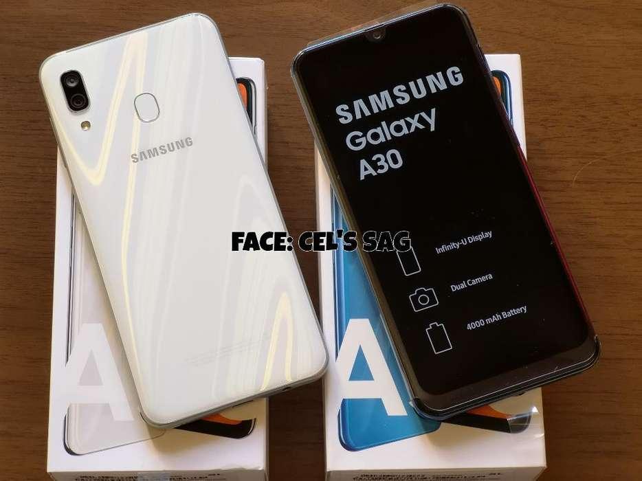 <strong>samsung</strong> GALAXY A30 NUEVOS 64GB !! ACEPTO CELULAR Y EFECTIVO