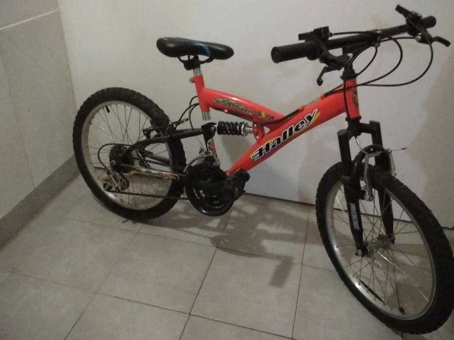 Vendo Bicicleta Rodado 20 Como Nueva