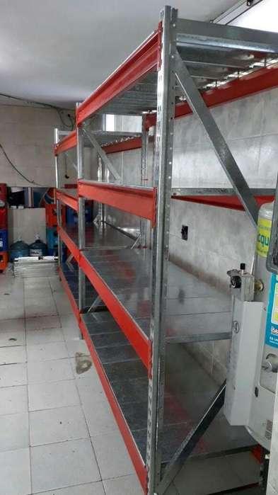 Rack de 190x60x300 con plano de carga