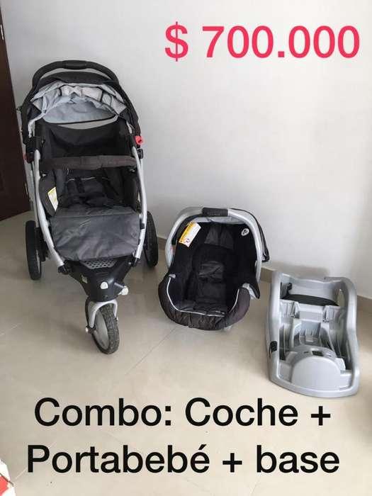 Cochecito Y Silla para Bebé Graco Trekko