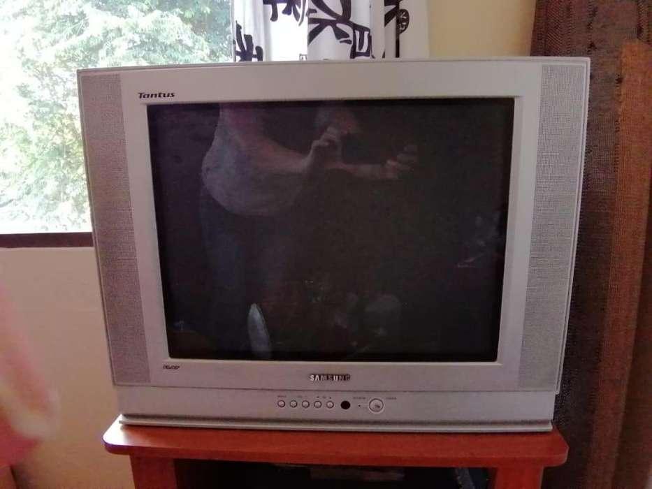 <strong>televisor</strong> Samsung 21 Pulgadas con Mesa