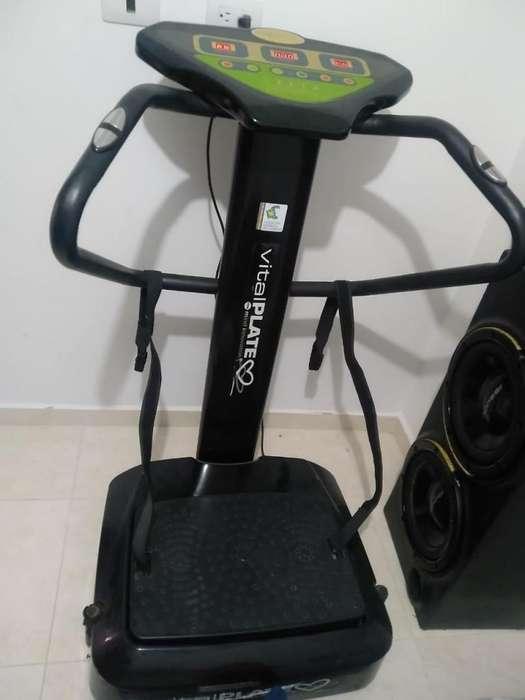 Maquina Fitness Vital Plate - Vibratoria