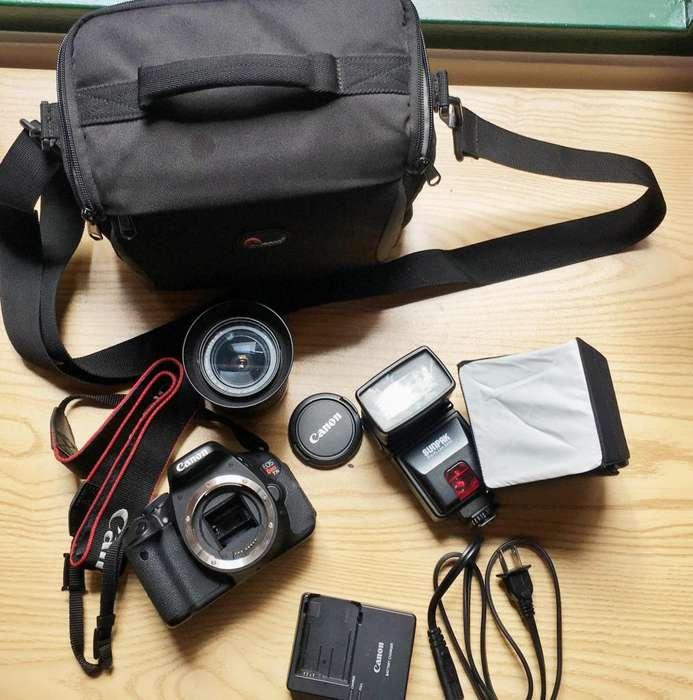 Camara DSLR Canon T3i