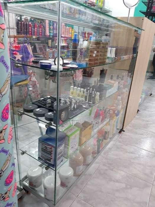 Vitrinas horizontales en vidrio