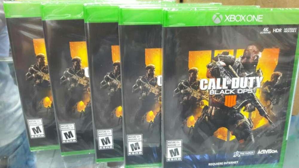Call Of Duty Black Ops 4 Xbox One Nuevo y Sellado Stock