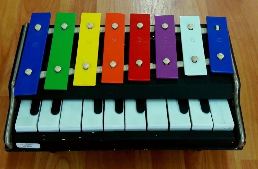 MINIATURA PIANO DE COLORES ARTICULO NUEVO EX024