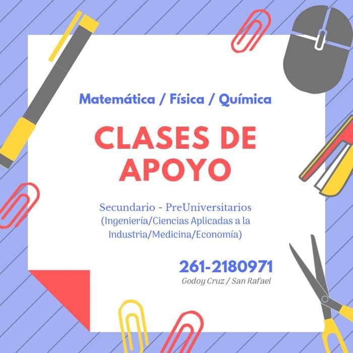 CLASES PARTICULARES / ACOMPAÑAMIENTO ESCOLAR