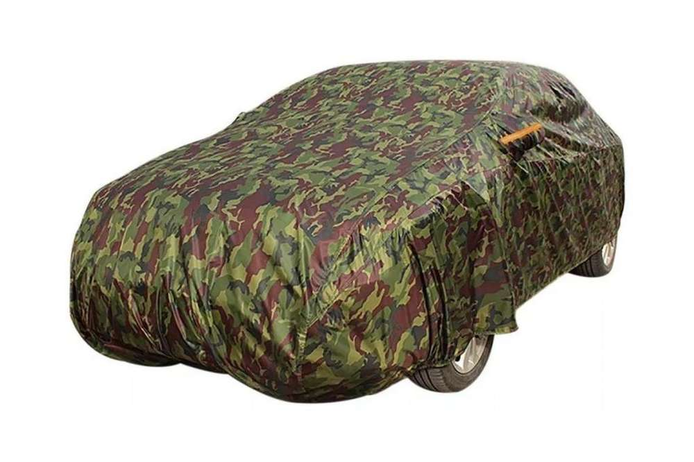 Cubre Coche Camuflado Resistente Polvo Impermeable
