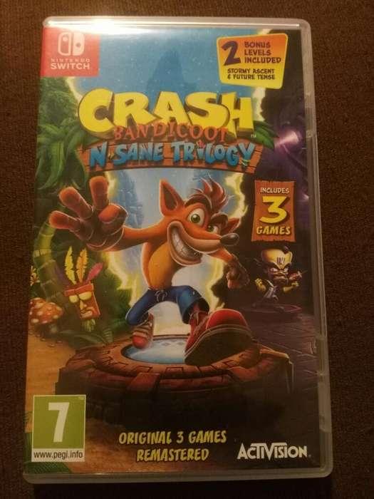 Vendo Crash Bandicoot