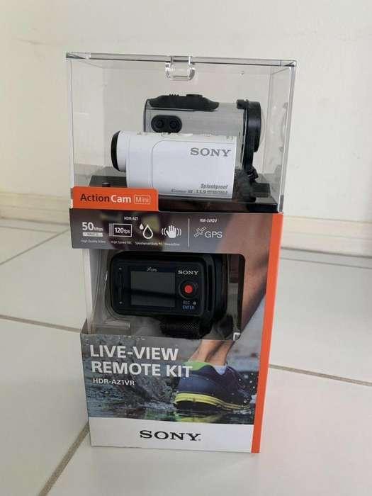 Sony Action cam Hdr-AZ1vr mas Control Remote Live2