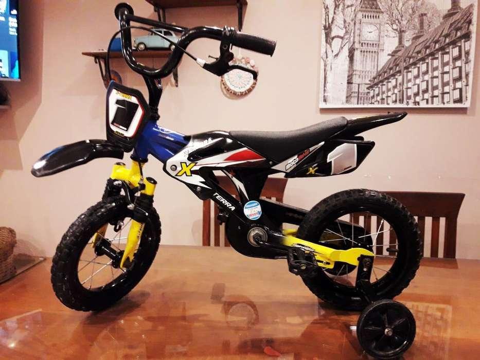 Bicicleta Rodado 12 Marca X-terra.