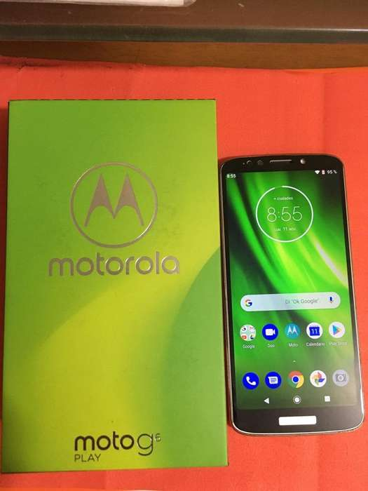 Moto G6 Play Caja,Factura
