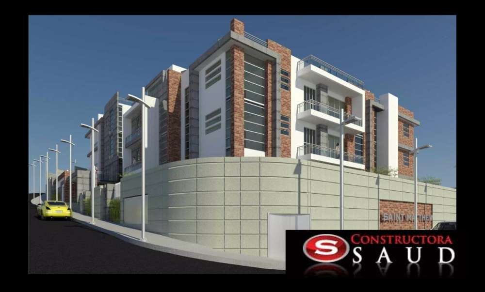 Suite Departamento en venta Edificio Saint Mathew, cerca El Bosque, U Hemisferios, Occidental, Mañosca, Iñaquito Alto