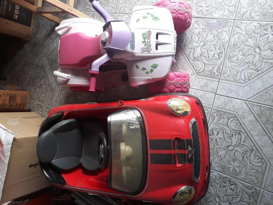 Vendo auto y moto elctricos