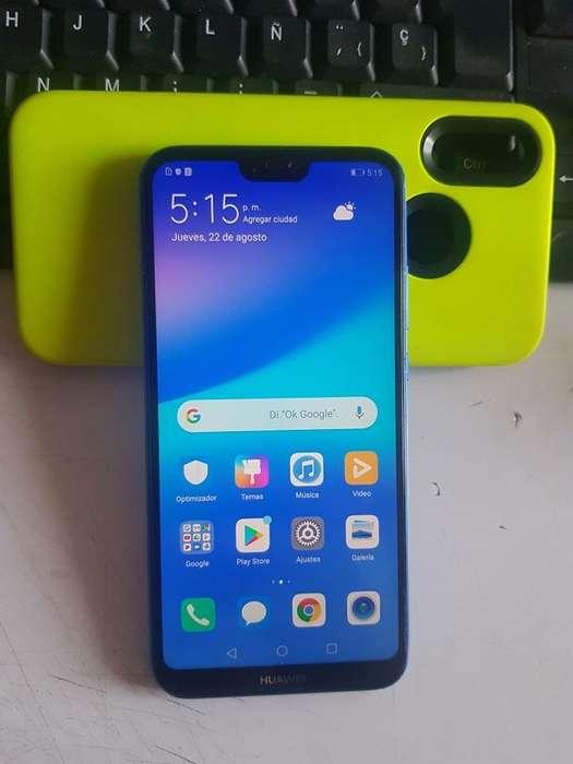 Vendo o Cambio Huawei P20 Lite Azul Dual SIM. 400.000.