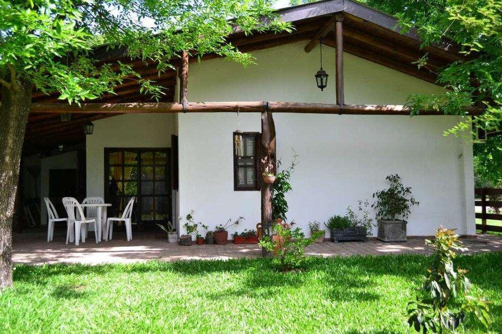 ga79 - Cabaña para 2 a 8 personas con cochera en San José
