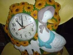 reloj antiguo decorativo funciona 3122802858