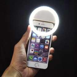 Selfie Flash Anillo Recargable Usb Ring Light Rk14 Celular