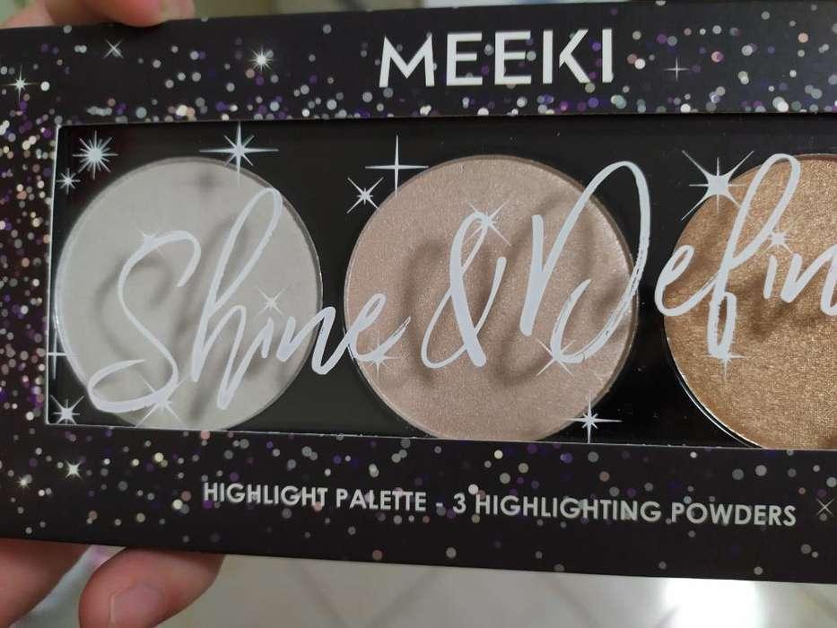 Ilumimador Paleta <strong>maquillaje</strong>