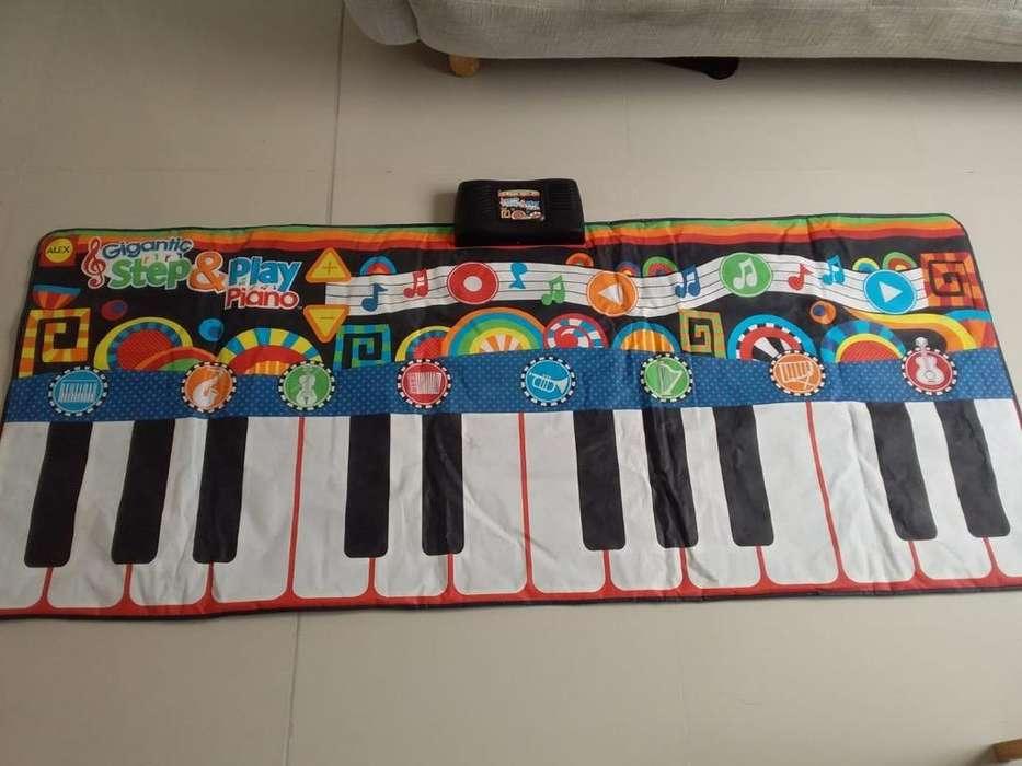 Pianotapete Musical de Pilas 40,000