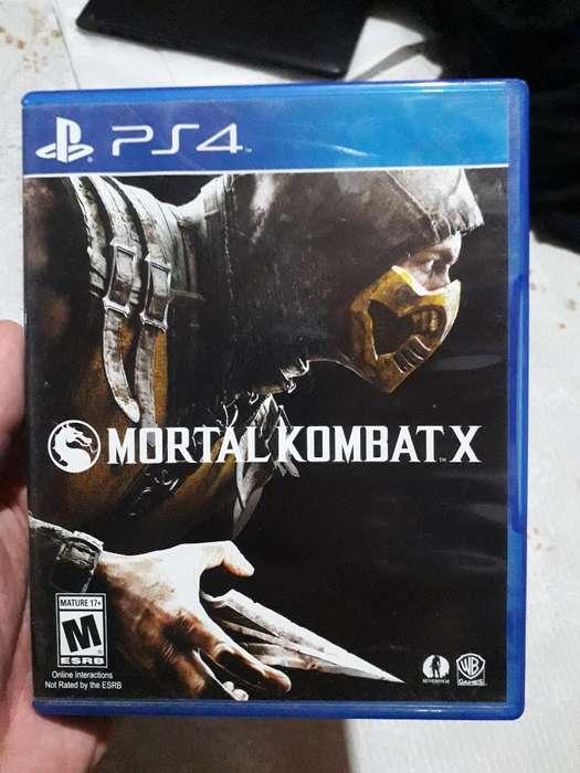 Vendo Mortal Kombat X Ps4 Muy Poco Uso