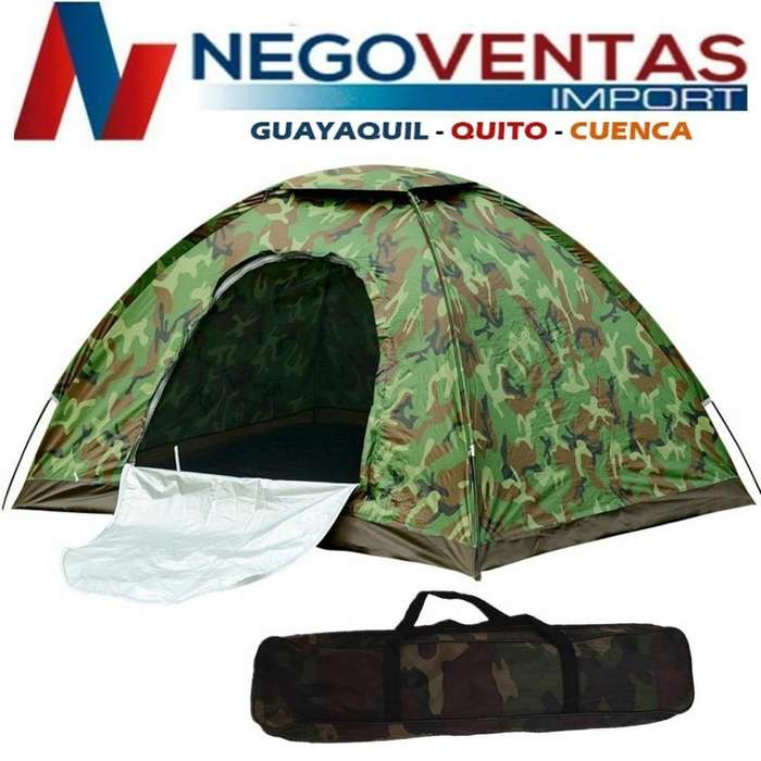 <strong>carpa</strong> PARA CAMPING TIPO IGLU CAMUFLAJE IMPERMIABLE