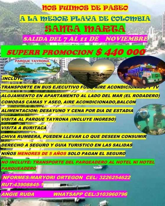 Excursión a Santa Marta