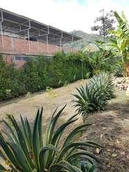 Espectacular LOTE 2300m² para casa quinta o negocio vereda Santa Teresa El Libertador centro ibague
