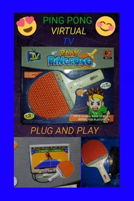 Ping Pong Virtual para Tv Plug And Play