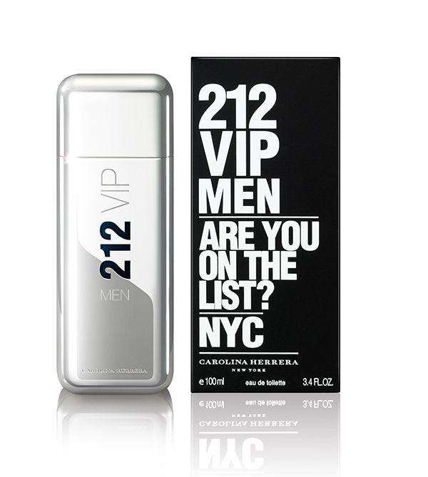 Perfume 212 Vip Men (Carolina Herrera) 100ml 3,4 Floz