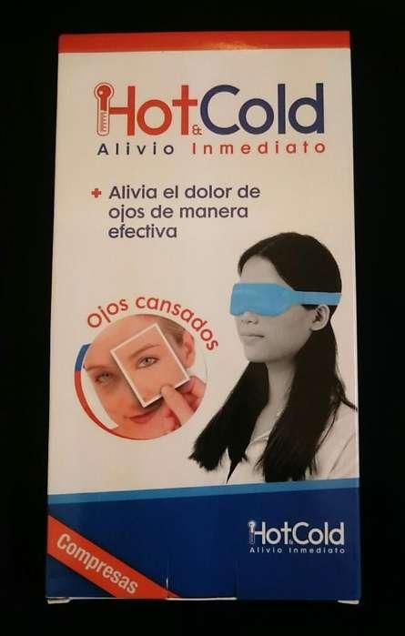 Compresa Hot Cold para Ojos LOTE DE 12 COMPRESAS