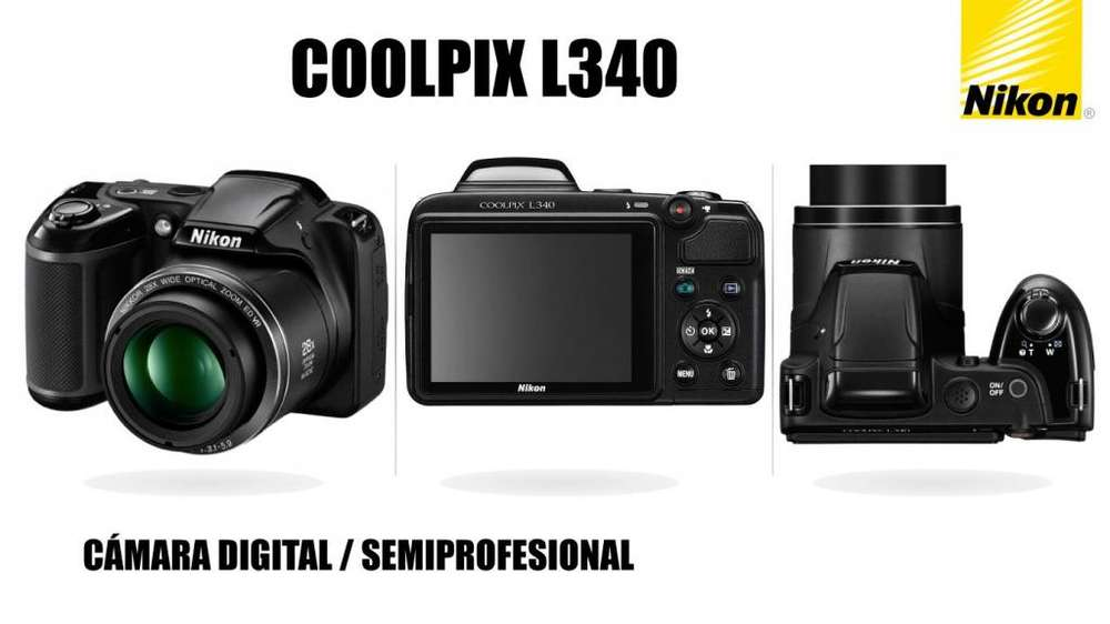 Cámara SemiProfesional Nikon