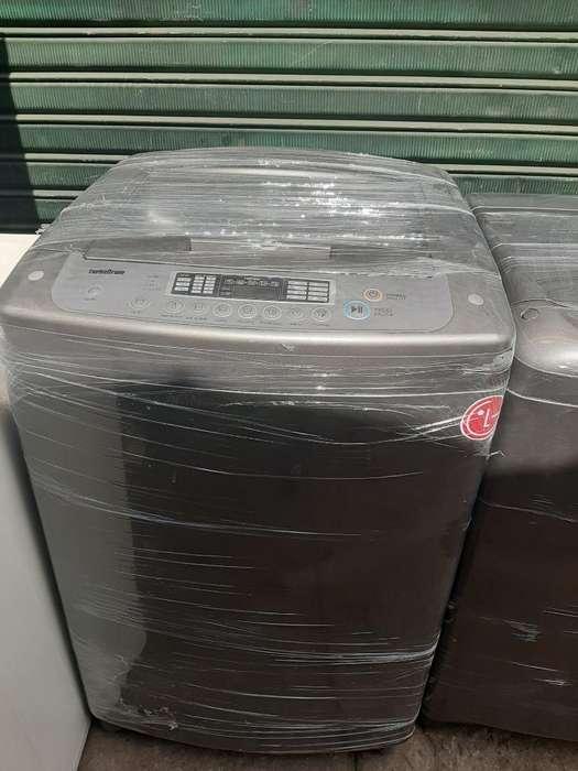 Turbo Drum Tapa de Vidrio 33libras Lg