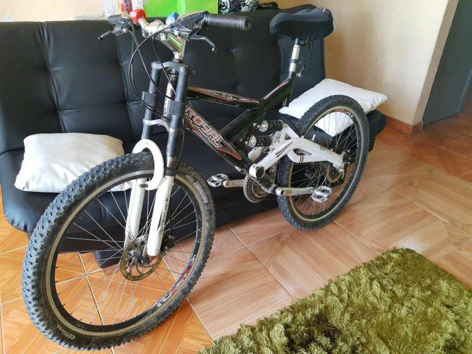 Biscicleta Dual Shock